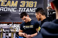 IMG_7671 (Team 3161 - Tronic Titans) Tags: oakville omgrobots light event coverage robot robotics hersheyscentre gold mechanical electrical pneumatics onchampsfrc first firstcanada frc ontario tronic titans