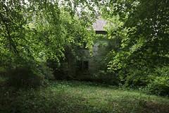 House hiding (hoekmannen) Tags: hoekmannen manor mansion herrgård gods overgrown gutshof manoir señorío sweden grönska greenery