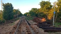 IMG_20180415_193829065_HDR (LnCS) Tags: railroad construction rebuild capitol metro capmetro texas new braunfels weekend trip giddings line rehab rehabilitation