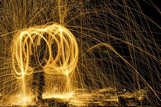 Cercles de feu et projection