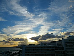 Marbella Sky! ('cosmicgirl1960' NEW CANON CAMERA) Tags: marbella sky blue clouds sunset spain espana andalusia costadelsol yabbadabbadoo travel holidays