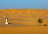 Omani man walking near a tree in the rub al khali desert, Dhofar Governorate, Rub al Khali, Oman (Eric Lafforgue) Tags: adult adventure arabia arabianpeninsula bush colorimage desert dhofar dishdasha dry emptyquarter environment erg gulfcountries horizontal idyllic landscape majestic nature oman oman18240 onemanonly oneperson outdoors plant rubalkhali sand sanddesert sanddune scenics sun temperature tourism traditionalclothing tranquilscene tranquility travel traveldestinations wilderness dhofargovernorate om
