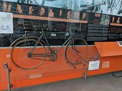 At the museo del ciclismo above Billagio, Lake Como, Italy  🚲