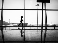 Poles (Hans-Jörg Aleff) Tags: egypt hansjörgaleff hurghada airport blackwhite poles streetphotography