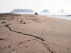 Preguntes (jocsdellum) Tags: preguntes questions mar sea onades waves sorra arena sand illes islas islands illesmedes lagoladelter desenfocament desenfoque blur soft