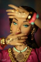 Scent of India (saratiz) Tags: india irresistibleinindia poppyparker necklace indianstyle tatoos