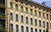Secession architecture in Vienna. Otto Wagner house (Tiigra) Tags: wien austria at 2017 architecture artnouveau city lattice mural ornament repetition vienna window pattern
