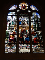 Church of Saint-Étienne-du-Mont: stained glass window (John Steedman) Tags: church saintétiennedumont stainedglasswindow stainedglass window フランス france frankreich frankrijk francia parigi parijs 法国 パリ 巴黎