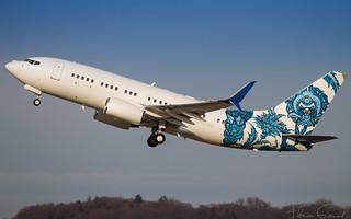 BBJ One  Boeing 737-7CJ N737ER