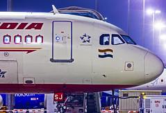 Air India Airbus A320 VT-ESJ Bangalore (BLR/VOBL) (Aiel) Tags: airindia airbus a320 vtesj canon60d bangalore bengaluru night