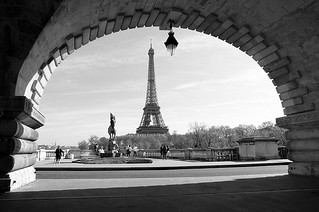 Tour Eiffel From Bir Hakeim Bridge