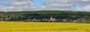 Authume (didier.bier) Tags: authume 39 jura bourgognefranchecomté franchecomté france champ colza paysage jaune clocher église clochercomtois tuilevernissée canon 1740lusmcanon eos80d panoramique