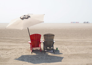A Beach Day for One in Toronto