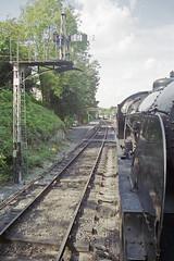 S15 506 at Alresford Station, 31 Aug 2000 (Ian D Nolan) Tags: railway mhr station 35mm epsonperfectionv750scanner alresfordstation