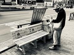 life. (framingthestreets) Tags: streetphotography japan kamakura kamakurabeach shinjuku shibuya blackandwhite daidomoriyama streetart nightlife moment moments reality reallife hardlife iphone iphonex photo