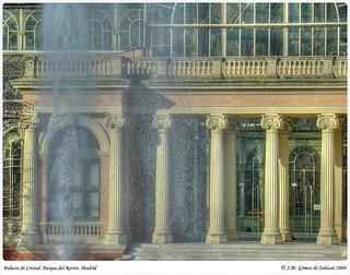 Palacio de Cristal. Parque de El Retiro. Madrid