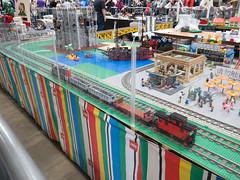 BayLUG Maker Faire 2018 008 (Bill Ward's Brickpile) Tags: lego baylug makerfaire bayltc makerfaire2018 maker make layout legotrains