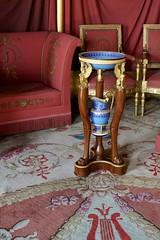 Josephine's washbasin, Chateau Malmaison (Joe Lewit) Tags: variosonnart281635 chateau malmaison josephine napoleon washbasin ewer stand