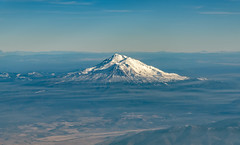 Mt. Shasta from above (acase1968) Tags: aerial mount shasta california nikon d750 nikkor 24120mm f4g mt snow covered winter airplane window mfrtosfo haze