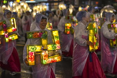 Lantern parade 2 (TigerPal) Tags: korea southkorea seoul jongno street festival fest parade buddhasbirthday buddhasbirthdaylanternfestival lantern lanternfestival korean march celebration