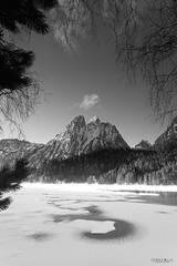 Sant Maurici 2 (yorxca) Tags: montaña naturaleza nieve españa agua lago water nature spain mountain ice snow clouds nubes retiro sant maurici pirineos