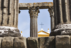 Old and older (beloy) Tags: ruins antiquities historical portugal religion roman catholic church columns stone history europe nikon nikond610 nikkor nikkor85mmf18g 85mm evora
