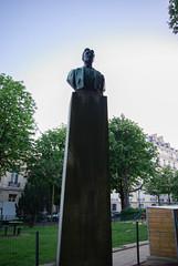 Statue of Myron Herrick (maxfisher) Tags: paris16earrondissement îledefrance france