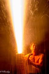 danger hands fireworks (Rocky(JPN)) Tags: 蒲郡 手筒花火 手筒 花火 fire works danger gamagoricity aichipref japan japanese fireworks