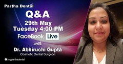 Partha Dental Facebook Live with Dr. Abhiruchi Gupta, Cosmetic Dental Surgeon on 29th May at 04:00 PM. (parthadental1) Tags: myparthadental dentalclinic hyderabad dentalclinichyderabad dentalclinicbangalore dentalclinicandhrapradesh dentalclinicvijayawada dentalclinicguntur dentalclinicvizag dentalclinictirupathibest implantsclinic rootcanaltreatment dentistbangalore oralprophylaxis resinfilling toothextraction teethwhitening braces goldcrown veneers bridge jacketcrown denture cebudentalclinic rootcanal dentisthyderabad endodontics smileup drpartha facebook inform living dentures receivers livebroadcast bridging