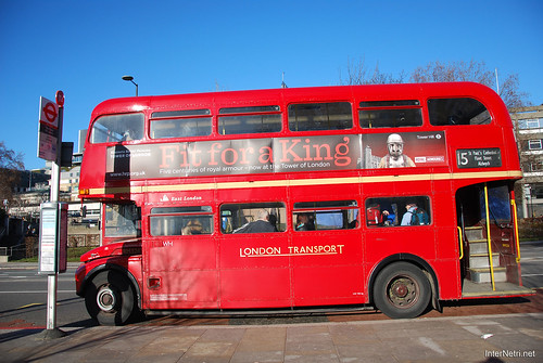 Двоповерховий автобус Лондон InterNetri United Kingdom 0281