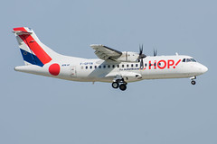 HOP / ATR45 / F-GPYN / LFPO 06 (_Wouter Cooremans) Tags: spotting spotter avgeek aviation airplanespotting orly parisorly lfpo ory hop atr45 fgpyn 06 atr42