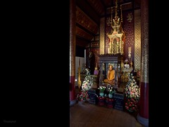 Luang Po Man (Antoine - Bkk) Tags: monk thailand fujifilm wat temple luang po man chiangmai meditation buddhism