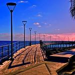 Blue Water, Pink Sunset - Limassol, Cyprus thumbnail