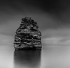 THE ROCK (paultstrange) Tags: flickrunitedaward bay kasefliters landscape rock sony sky sea blackwhite longexposure ladrambay devon