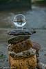 DSCF1455-HDR.jpg (Sav's Photo Gallery) Tags: beach crystalball glassball riverthames savash towerbridge cairn