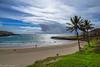 Before the storm / Перед бурей (Vladimir Zhdanov) Tags: travel chile polynesia rapanui easterisland anakena sky cloud beach sand tree grass ocean water wave bay people
