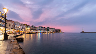 Sunset in Chania