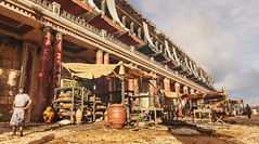The market stalls around the hippodrome in ancient Alexandria in Assassin's Creed Origins Discovery Tour (mharrsch) Tags: ancient alexandria egypt ptolemaicperiod assassinscreedorigins discoverytour mharrsch hippodrome chariotrace horse architecture roman market horserace
