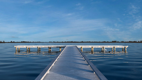 Ballarat Fly Fishers' Club Jetty