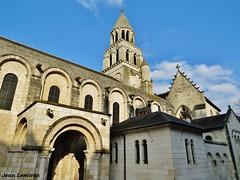 Poitiers - Église Notre-Dame-la-Grande (JeanLemieux91) Tags: hiver winter invierno février february febrero poitoucharentes poitiers france europe église church iglesia clocher