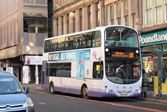 FG 32602 @ Union Street, Glasgow (ianjpoole) Tags: first glasgow volvo b7tl wright eclipse gemini sf54tka 32602 working route 10 sauchiehall lane silverburn bus station