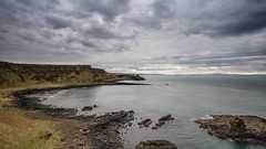 Grey day at the Giants Causeway taken from the Needles view point, Inishowen on the horizon (jac.photography49) Tags: clouds cliff canon exposure headland fullframe images ireland sky rocks northernireland view water sea 1635mm f4 5dmkiii