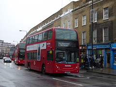 Uxbridge Helper (Travel) (londonbusexplorer) Tags: metroline west adl enviro 400 dennis trident uxbridge buses ul4 finchley central camden town kings cross tfl london rail replacement northern line nlb te945 lk58khl