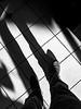 Me & My Shadow (Nicholas Erwin) Tags: shadow shadowplay contrast floor tile pattern me walk legs shoes nicholaserwin nickerwin self blackandwhite bw monochrome mono samsunggalaxys7 galaxys7 waterbury vermont vt unitedstatesofamerica usa interior store fav10 fav25
