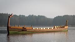 Römerboot am Dechsendorfer Weiher 0667 (Peter Goll thx for +7.000.000 views) Tags: erlangen germany römerboot fau franken weiher dechsendorf lake pond