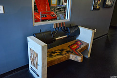 Take A Load Off (Chad Horwedel) Tags: bench corvettemuseum bowlinggreen