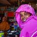 Potrait of a somali woman in a shop, Woqooyi Galbeed province, Baligubadle, Somaliland