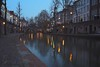 Canals and reflections (Jorgepevet) Tags: hdr highdynamicrange canals utrecht bluehour canon lights reflection