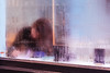 Cafe, Soho ({Laura McGregor}) Tags: cafe soho london city urban window condensation steamy foggy misty rain blur street streetphotography fujifilm fujixpro2 xpro2 56mm beakstreet kinglycourt