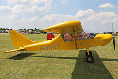 G-ROKY Groppo Trail North Weald Air Britain Fly-In 18th June 2017 (michael_hibbins) Tags: groky groppo trail north weald air britain flyin 18th june 2017 g british uk single prop props propeller piston aviation aircraft aeroplane aerospace airplane aero airfields general